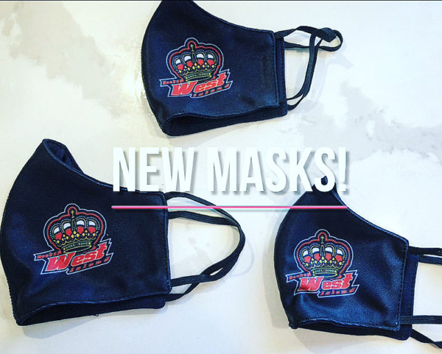 NEW MASKS HAVE ARRIVED!